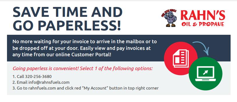 Paperless Invoice Option